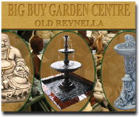 Big Buy Garden Centre - fountains, statues and other decoration and furnishings for your outdoor areas.